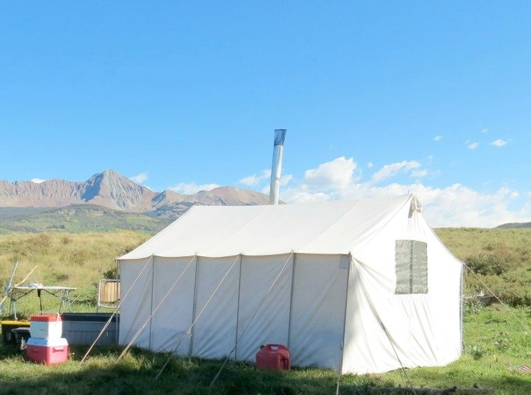 Hunting Tent Rental Packages for the 2017 Colorado Big Game Season