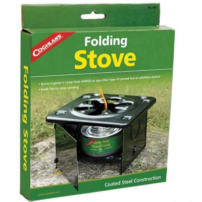 Folding stove packaging
