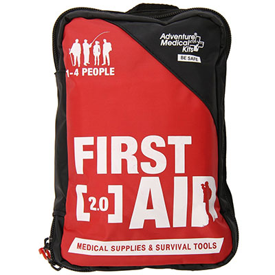 First aid front view