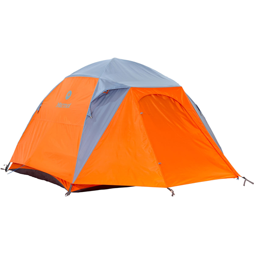Spotlight on the Marmot Limestone 4P Tent for Family Camping