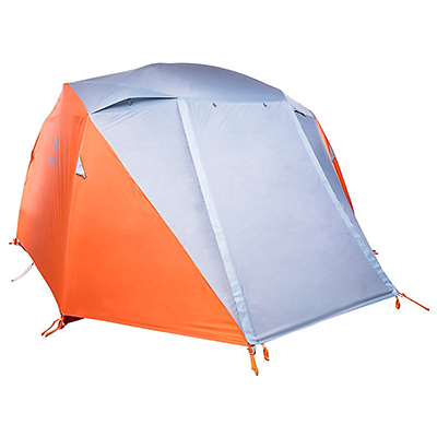 Orange And Gray Tent With Rainfly