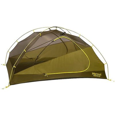 marmot 3 person tent, green