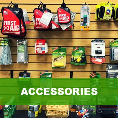 store with camping items