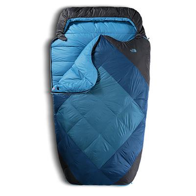 Blue double sleeping bag