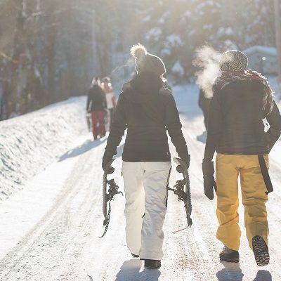 Snowshoe rentals