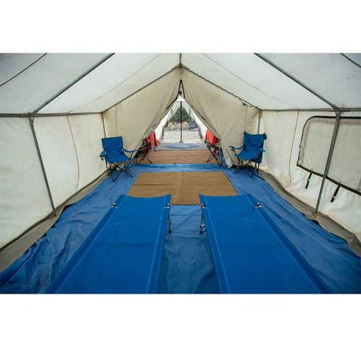 Wall Tent interior View