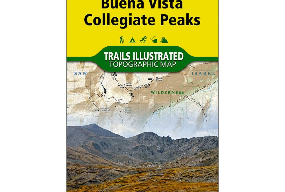 Hiking Maps for Exploring Colorado's Forty-Two State Parks