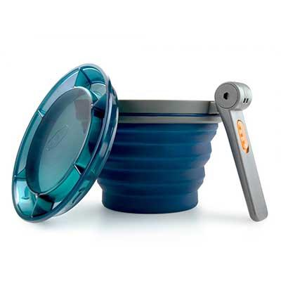 collapsible 22 ounce silicone mug