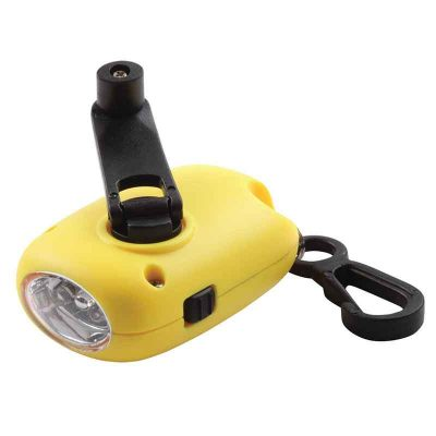 Dynamo Flashlight Yellow