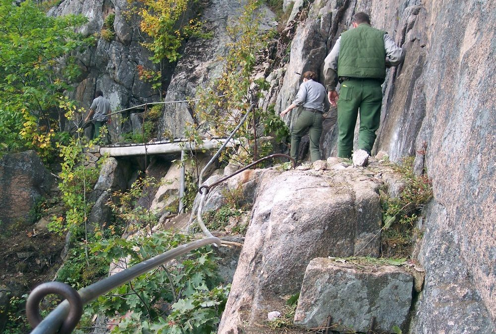 Precipice Trail is a Classic Day Hike in Acadia National Park