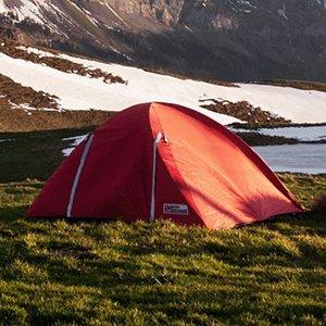 Tent is Green Meadow