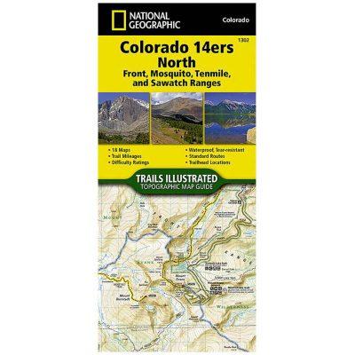 The Colorado 14ers North 1302
