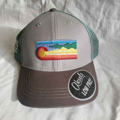 Rainbow Hat Front View