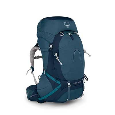 Challenger Blue Osprey 65 Liter Backpack
